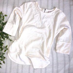 MERONA White Sweater Blouse